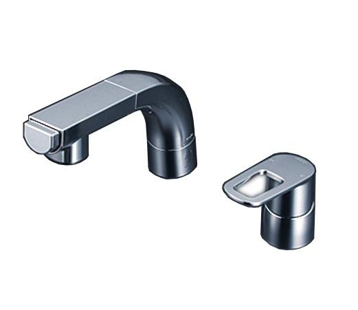 【最安値挑戦中!最大25倍】KVK FSL120DET シングルレバー式洗髪シャワー eレバー