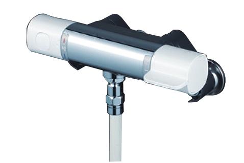 【最安値挑戦中!最大25倍】KVK FTB100KSF サーモスタット式シャワー シャワー専用型