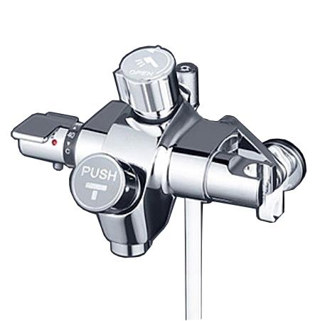 【最安値挑戦中!最大34倍】KVK KF3040NSV 自閉式サーモスタットシャワー シャワー側ハンドル開閉タイプ