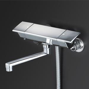 【最安値挑戦中!最大25倍】KVK KF3050R2 サーモスタット式シャワー(240mmパイプ付)