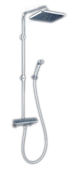 【最安値挑戦中!最大34倍】KVK KF3060W オーバーヘッドシャワー付サーモ eシャワーNf仕様 寒冷地用