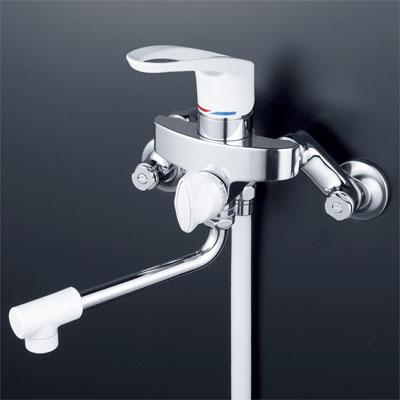 【最安値挑戦中!最大25倍】シャワー水栓 KVK KF5000 シングルレバー式シャワー