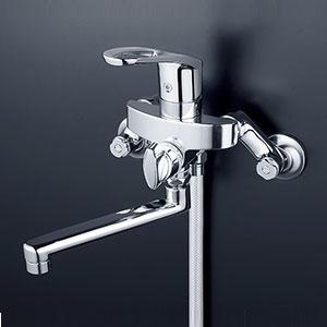 【最大44倍お買い物マラソン】水栓金具 KVK KF5000TMB シングルレバー式シャワー
