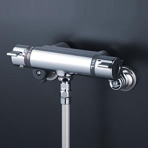 【最安値挑戦中!最大25倍】KVK KF800TF サーモスタット式シャワー(シャワー専用型)