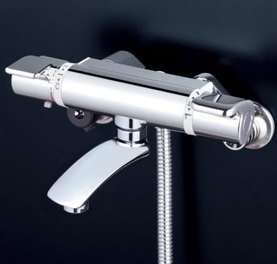 【最安値挑戦中!最大25倍】シャワー水栓 KVK KF890WS2 サーモスタット式シャワー 寒冷地用