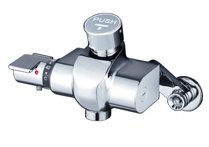 【最安値挑戦中!最大34倍】KVK KM3040N 自閉式サーモスタット混合栓