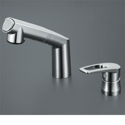 【最安値挑戦中!最大34倍】洗髪シャワー KVK KM5271T 洗面化粧室 シングルレバー式洗髪シャワー