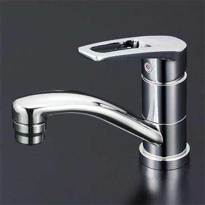 【最安値挑戦中!最大25倍】シングルレバー KVK KM7011T 洗面化粧室 洗面用シングルレバー式混合栓