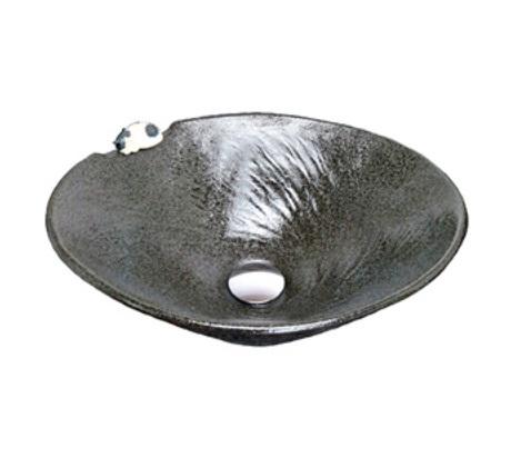 【最安値挑戦中!最大25倍】KVK KV301S 手洗鉢 黒釉ねこ [♪]