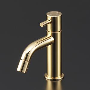 【最安値挑戦中!最大25倍】KVK LFK612X-G 立水栓(単水栓) 金めっき 洗面水栓