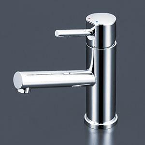 【最安値挑戦中!最大25倍】水栓金具 KVK LFM612B 洗面用シングルレバー式混合栓