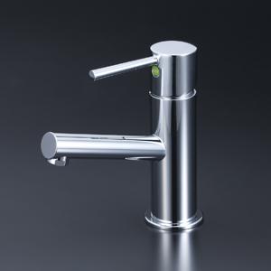 【最安値挑戦中!最大25倍】KVK LFM612UBEC 洗面用シングルレバー混合栓 eレバー、その他