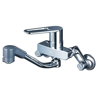【最安値挑戦中!最大34倍】KVK MSK110KZRFUT シングルレバー式シャワー付混合栓 寒冷地用