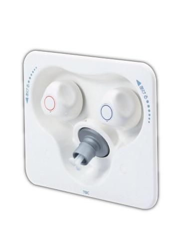 【最安値挑戦中!最大34倍】洗濯機関連 KVK SP1200SA 洗面化粧室 2ハンドル混合水栓コンセント
