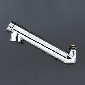 【最大44倍お買い物マラソン】水栓金具 KVK ZS202ZN 浄水器内蔵吐水パイプ13(1/2)用 寒冷地用