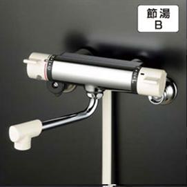 【最安値挑戦中!最大34倍】シャワー水栓 KVK KF800R3 サーモスタット式シャワー 300mmパイプ付