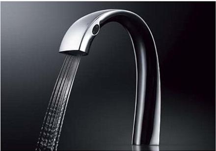 【最安値挑戦中!最大33倍】TOTO 水栓金具 洗面所用水栓 TLP01S01J 台付自動水栓[■]