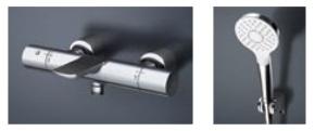【最安値挑戦中!最大23倍】TOTO TBV01S07J 壁付サーモスタット混合水栓(コンフォートウエーブ) [■]