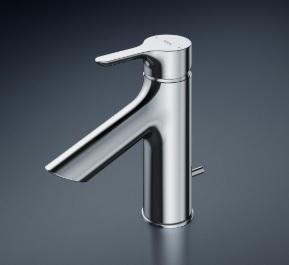 【最安値挑戦中!最大25倍】TOTO 洗面所用水栓 TLS01302JA 台付シングル混合水栓 逆止弁 ワンプッシュ式 一般地/寒冷地共用 [■]