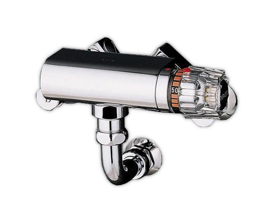 【最安値挑戦中!最大25倍】水栓金具 TOTO TM43AX20 浴室 サーモスタット 中形(20mm)露出形 受注生産 [■§]