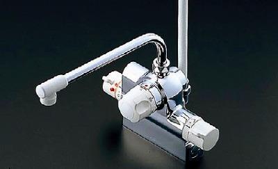 【最安値挑戦中!最大23倍】水栓金具 TOTO TMJ48E 浴室 台付きタイプ サーモスタットシャワー金具 自動水止め 定量止水 [■]