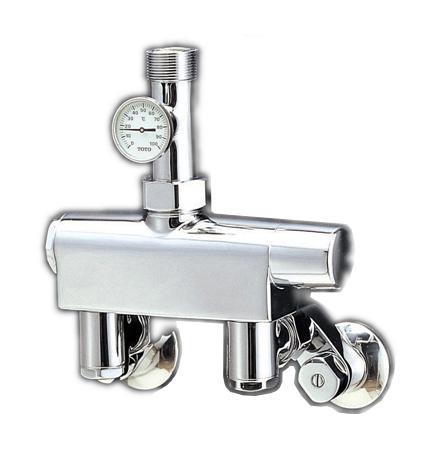 【最安値挑戦中!最大34倍】水栓金具 TOTO TM440BX25 浴室 大形サーモスタット(露出配管形) 25mm用 [■]