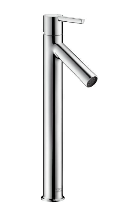 【最安値挑戦中!最大25倍】ハンスグローエ 10103000 アクサースタルク シングルレバー洗面混合水栓 360(ベッセル型洗面器用、ポップアップ引棒無) [■]