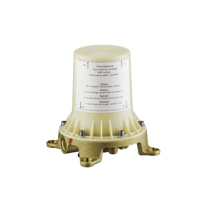 【最安値挑戦中!最大34倍】ハンスグローエ 10452180 埋込部 フリースタンディング混合水栓用 [■]