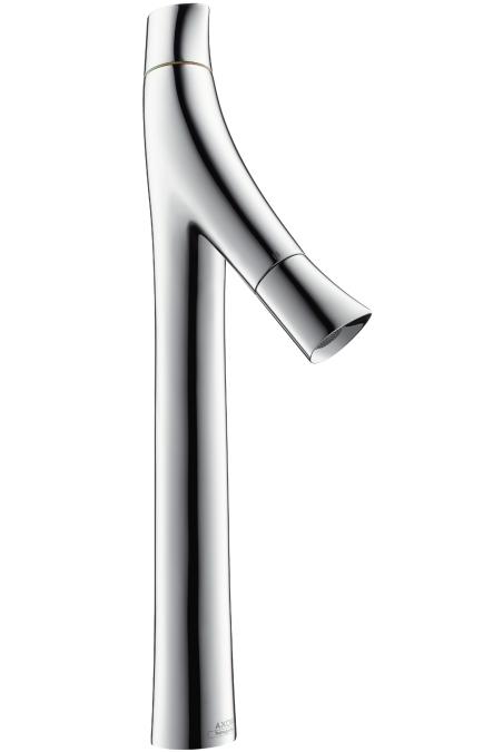 【最安値挑戦中!最大25倍】ハンスグローエ 12013000 アクサースタルクオーガニック 2ハンドル洗面混合水栓 435 (ベッセル型洗面器用、ポップアップ引棒無) [■]