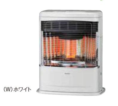 【最安値挑戦中!最大23倍】コロナ FF式石油暖房機 FF-VT5517P(W) 輻射型 ホワイト V(ミニパル)シリーズ 木造14畳 [■]
