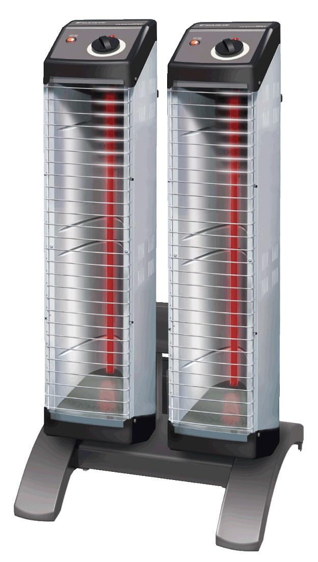 【最安値挑戦中!最大34倍】ダイキン 遠赤外線暖房機 ERK20ND セラムヒート(床置スリム/ツイン)単相200V 電源コード別売 [♪■]