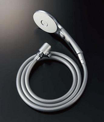 【最安値挑戦中!最大25倍】INAX BF-SL6MBGE(1.8)-AT 別売シャワーヘッド エコアクアスイッチシャワー(めっき仕様) メタル調シルバーホース 樹脂製防カビホース 1.8m [□]