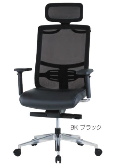 井上金庫 FMT-05A オフィスチェア 上下可動肘付 [【店販】♪▲]
