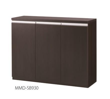 井上金庫 サイドボード MMD-SB930 W1200 × D400 × H930 [【店販】♪▲]