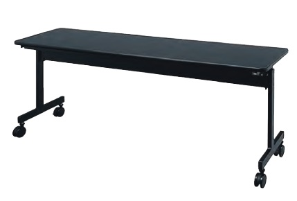 井上金庫 サイドスタッキングテーブル KV-1845-BK W1800 × D450 × H700 [【店販】♪▲]