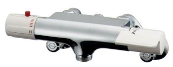 【最安値挑戦中!最大34倍】水栓金具 カクダイ 173-400 サーモスタットシャワー混合栓本体 [□]