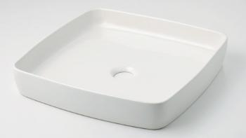 【最安値挑戦中!最大25倍】洗面所 カクダイ 493-096-W 角型手洗器//シュガー [♪■]