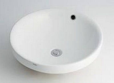 【最安値挑戦中!最大34倍】カクダイ 【493-000】 JEWEL BOX Luju 丸型洗面器 [♪■]