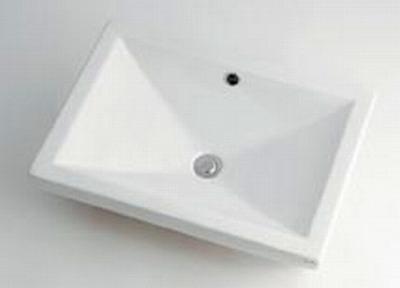 【最安値挑戦中!最大34倍】カクダイ 【493-002】 JEWEL BOX Luju 角型洗面器 [♪■]
