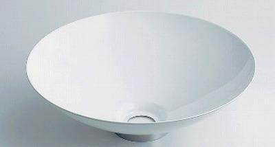 【最安値挑戦中!最大25倍】カクダイ 【493-039-W】 JEWEL BOX 鉄穴 丸型手洗器 ホワイト [♪■]