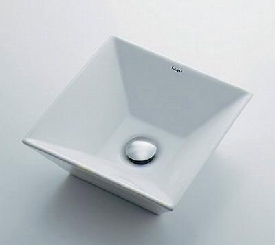 【最安値挑戦中!最大34倍】カクダイ 【493-082】 JEWEL BOX Luju 角型手洗器 [♪■]