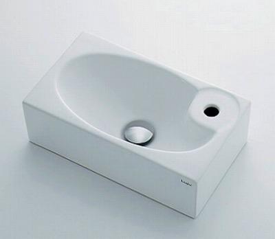 【最安値挑戦中!最大25倍】カクダイ 【493-084】 JEWEL BOX Luju 壁掛手洗器 [□]
