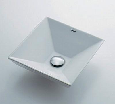 【最安値挑戦中!最大25倍】カクダイ 【493-085】 JEWEL BOX Luju 角型手洗器 [♪■]