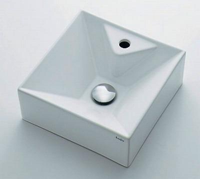 【最安値挑戦中!最大25倍】カクダイ 【493-086】 JEWEL BOX Luju 壁掛手洗器 [♪■]