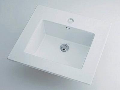 【最大44倍スーパーセール】洗面所 カクダイ 493-093 角型洗面器 [♪■]
