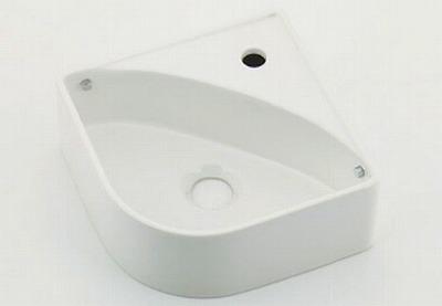 【最安値挑戦中!最大25倍】水栓金具 カクダイ 493-150-W 壁掛手洗器//ホワイト [♪■]