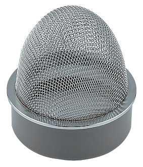 【最安値挑戦中!最大25倍】通気器具 カクダイ 400-238-125 VP・VU兼用山形防虫目皿 [□]