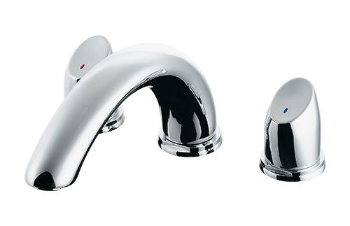 【最安値挑戦中!最大25倍】水栓金具 カクダイ 154-000K バスデッキ混合栓 寒冷地 [♪■]