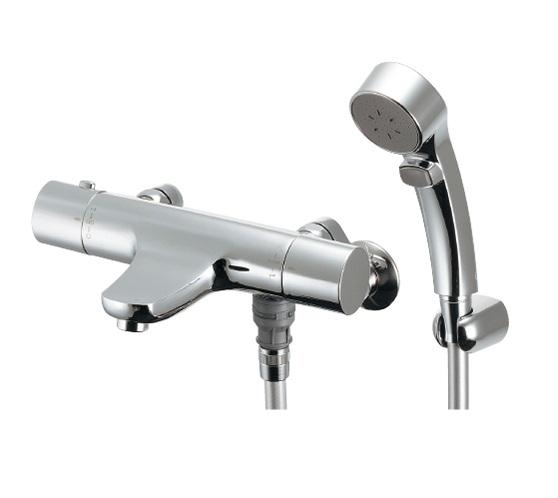 【まいどDIY】水栓金具 カクダイ 173-245 サーモスタットシャワー混合栓(壁付) [♪■]