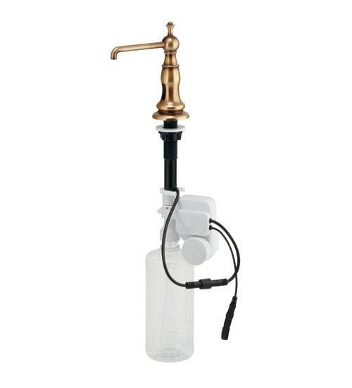【最安値挑戦中!最大34倍】水栓金具 カクダイ 205-920-AB オートソープディスペンサー(オールドブラス) [♪■]